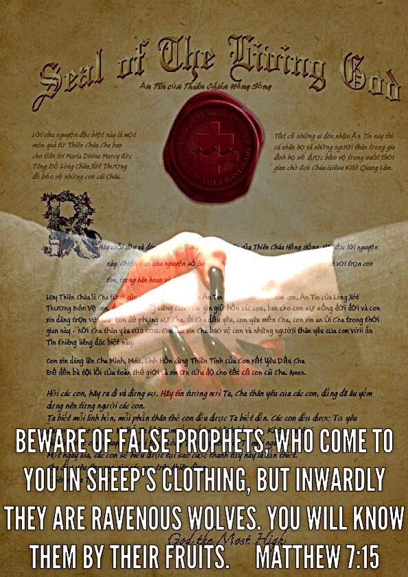 """Testimonianza di liberazione di una ex seguace dei falsi """"messaggi da Gesù"""" della veggenteMDM-"""